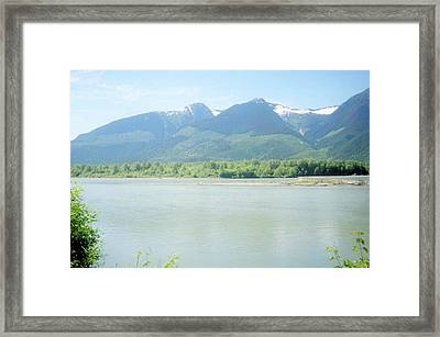 Skeena River British Columbia Framed Print by Michael Mccormack