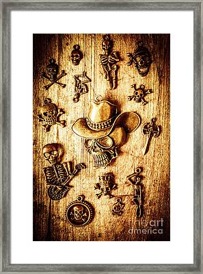Skeleton Pendant Party Framed Print by Jorgo Photography - Wall Art Gallery