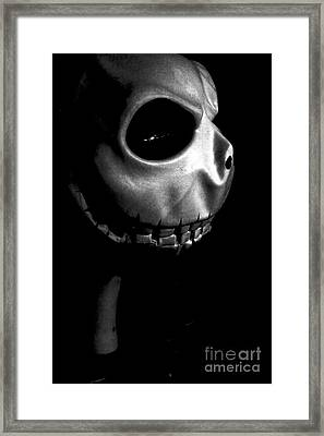 Skellingtonominous Framed Print