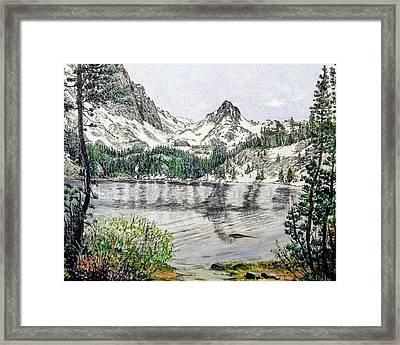 Skelton Lake Framed Print