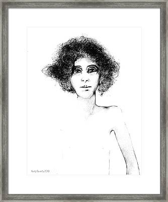 Sketch 108 Framed Print
