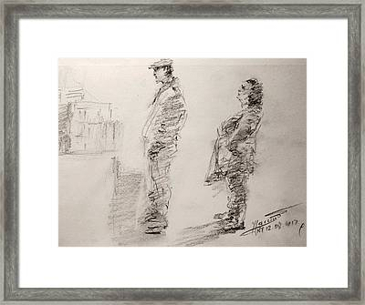 Sketch 11 Framed Print