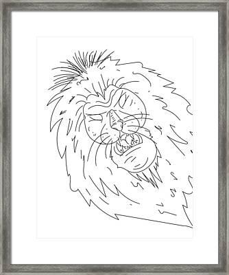 Sketch A15 Framed Print