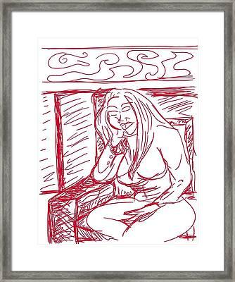 Sketch A2 Framed Print