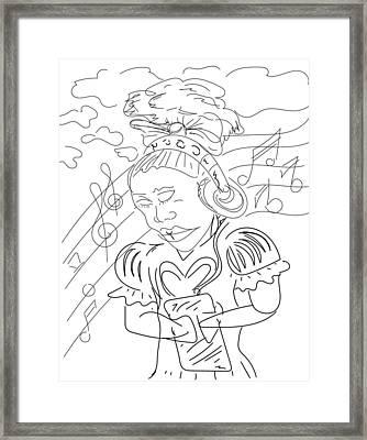 Sketch A9 Framed Print