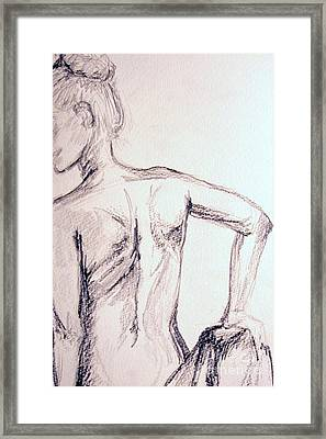 Sketch Class 2 Framed Print by Julie Lueders