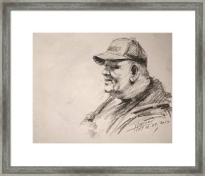 Sketch Man 15 Framed Print