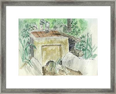 Sketchbook 003 Framed Print by David King
