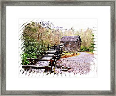 Sketchy Mingus Mill 2 Framed Print by Marty Koch