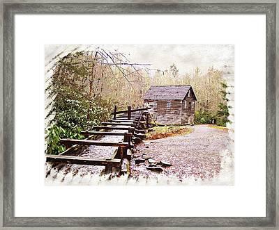 Sketchy Mingus Mill 3 Framed Print