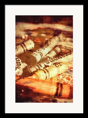 Image Overlay Framed Prints