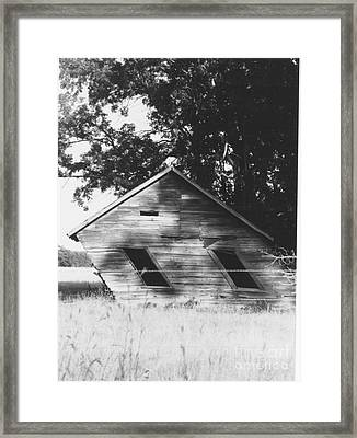 Skewed Framed Print by The Stone Age