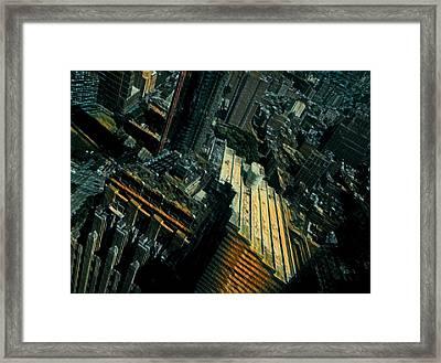 Skewed View Framed Print