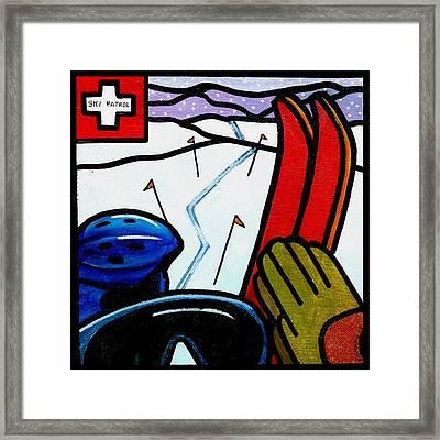 Ski Patrol Framed Print by Jim Harris