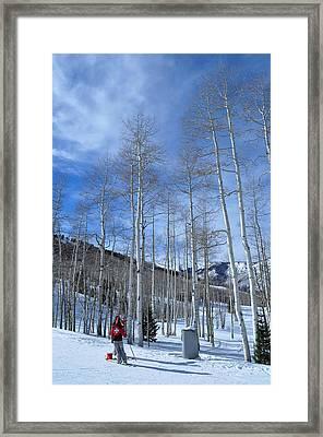 Ski Patrol Framed Print