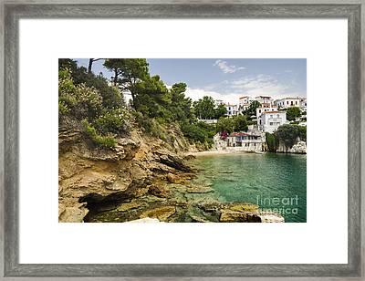 Skiathos Island Greece Framed Print by Jelena Jovanovic