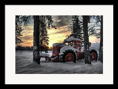 Heather Rivet Framed Prints
