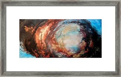 Skies Beneath Framed Print by Holly Anderson