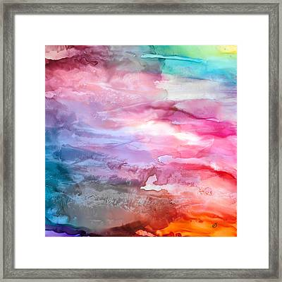 Skies Emotion Framed Print