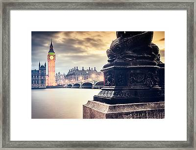 Skies Over London Framed Print