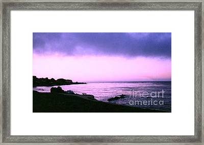 Skies Wide Open Framed Print