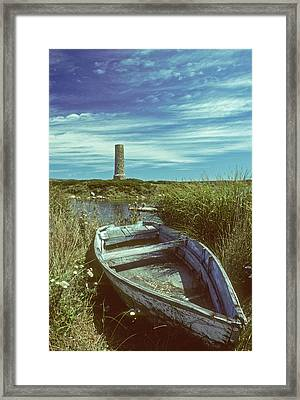 Skiff At Westend Pond Framed Print