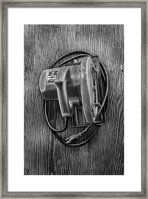 Skilsaw Top Framed Print
