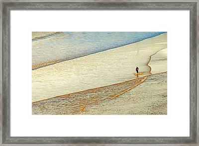 Skim Surfing  Framed Print by Eyal Nahmias