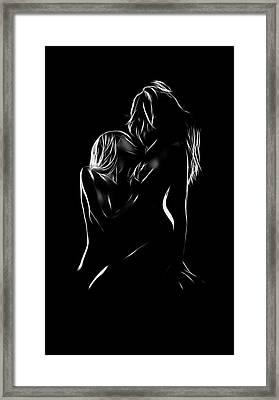 Skin Deep Framed Print by Steve K