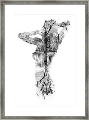 Skin Deep Framed Print