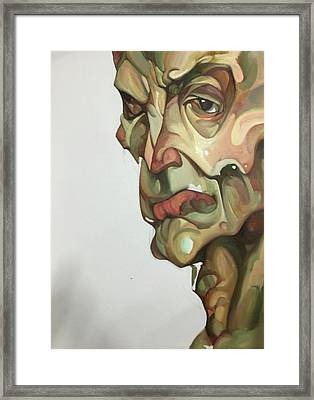 Skin No.1 Framed Print by Wei Pan