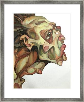 Skin No.2 Framed Print by Wei Pan