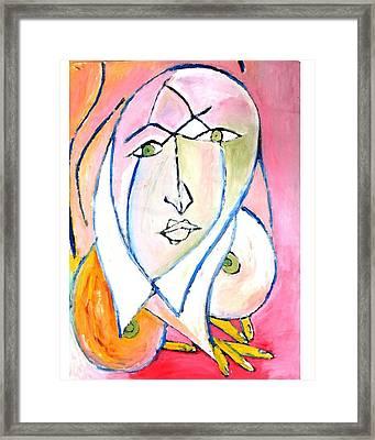 Skinning.2010. Framed Print