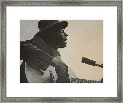 Skip James Framed Print
