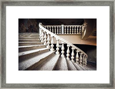 Skirt Stair Framed Print by Svetlana Sewell