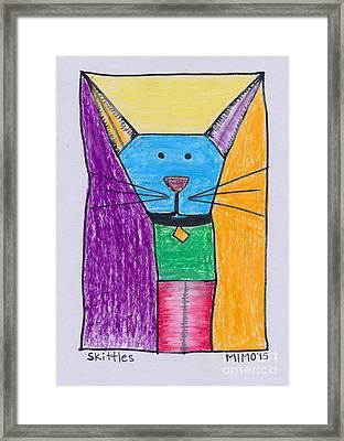 Skittles Framed Print