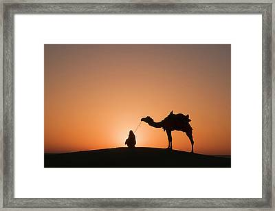 Skn 0893 Halo Of Sunrise Framed Print