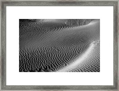 Skn 1129 Corrugation Framed Print