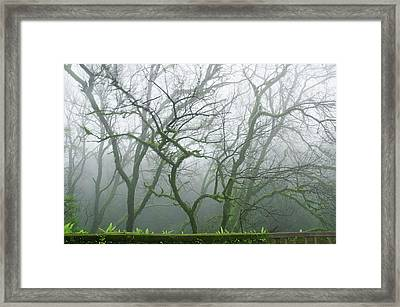 Skn 3720 Monsoon Landscape Framed Print