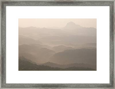 Skn 4182 Sketching With Light Framed Print