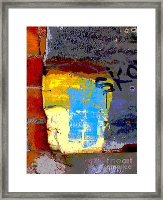 Sko By Michael Fitzpatrick Framed Print