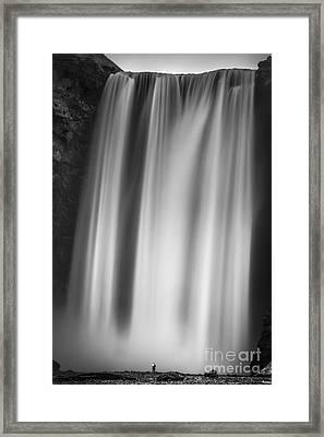 Skogarfoss Iceland Framed Print