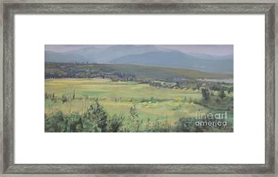 Skokomish Valley Framed Print by Terri Thompson