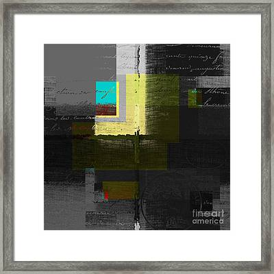 Skouarios 04attx - J0234143191yg Framed Print by Variance Collections