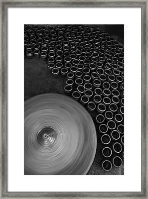 Skc 0145 Job Over Framed Print by Sunil Kapadia