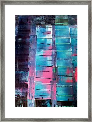Skscraper Framed Print