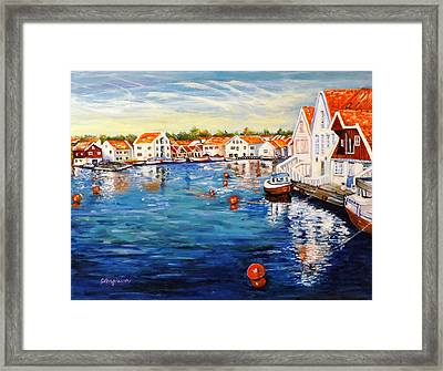 Skudeneshavn Norway Framed Print