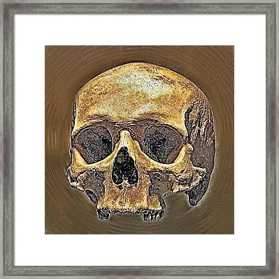 Skull. Framed Print