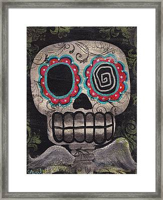 Skull Angel Framed Print