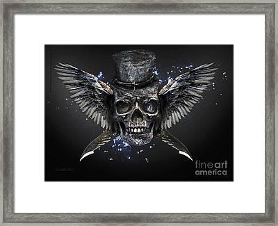 Skull Framed Print by Betta Artusi